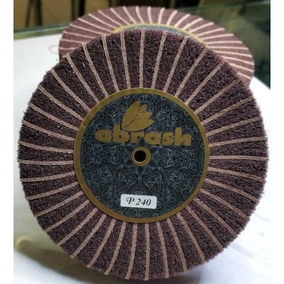 Abrash Abrasive Wheel With Brown Scotch Brite
